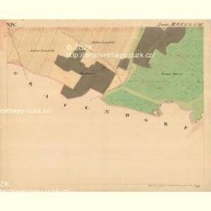 Grussbach - m0920-1-014 - Kaiserpflichtexemplar der Landkarten des stabilen Katasters