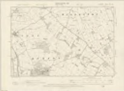 Cheshire XXX.NE - OS Six-Inch Map