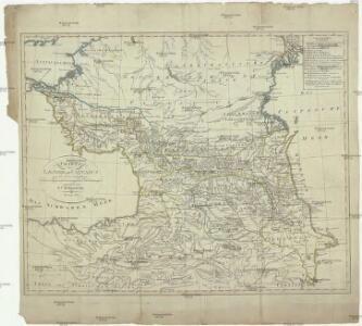Charte der Laender am Caucasus
