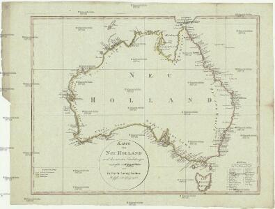 Karte von Neu Holland
