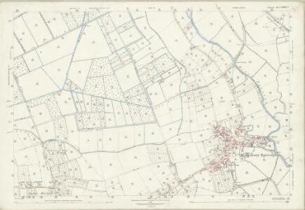 Somerset LXXXI.4 (includes: Drayton; Kingsbury Episcopi; Martock) - 25 Inch Map