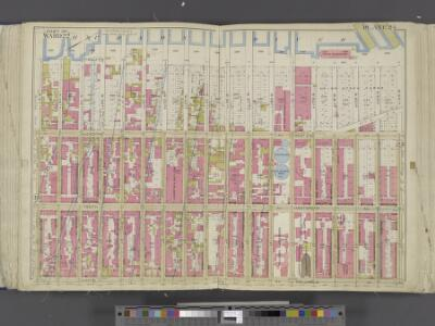 Manhattan, Double Page Plate No. 24 [Map bounded by Hudson River, W. 64th St., 9th Ave., W. 47th St.]