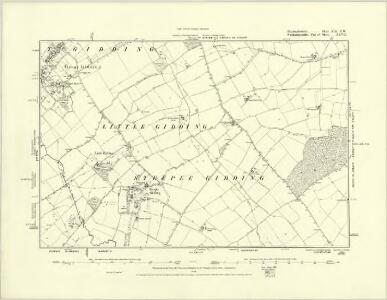 Huntingdonshire XIII.SE - OS Six-Inch Map