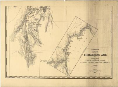 Statistikk 36-2 sør: Ethnigrafisk Kart over Finmarkens Amt No 2