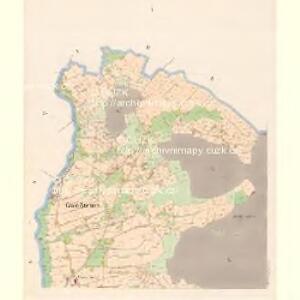Gross Stiebnitz (Welka Sstjbnice) - c9236-2-001 - Kaiserpflichtexemplar der Landkarten des stabilen Katasters