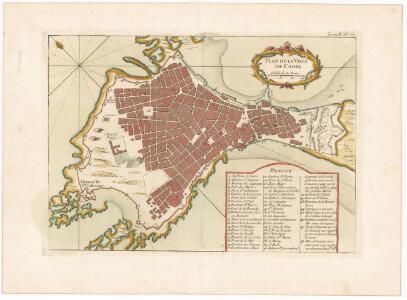 Plan de la ville de Cadix