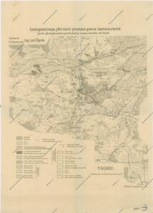Geologická mapa jižní části plzeňské pánve kamenouhelné