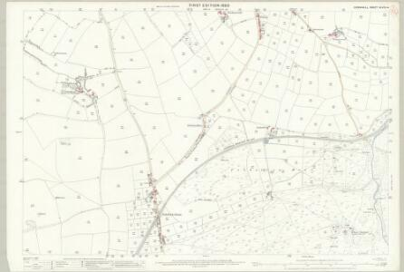 Cornwall XLVIII.4 (includes: Newlyn) - 25 Inch Map