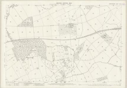 Herefordshire XXIV.11 (includes: Eardisley; Whitney; Willersley; Winforton) - 25 Inch Map