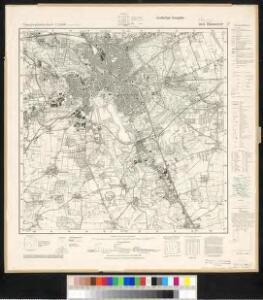 Meßtischblatt 3624 : Hannover, 1940