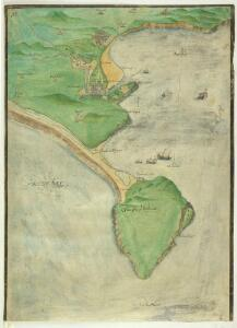 A Coloured Plan of the Isle of Portland and Weymouth Bay