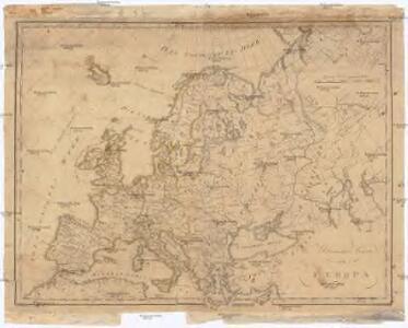 Uibersichts Karte von Europa