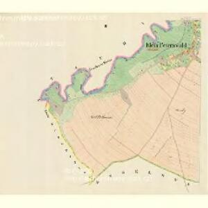 Klein Peterswald (Maly Peterswald) - m2281-1-002 - Kaiserpflichtexemplar der Landkarten des stabilen Katasters