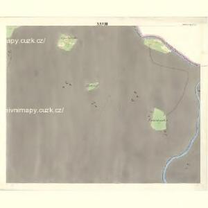Ostrawitz - m2189-1-025 - Kaiserpflichtexemplar der Landkarten des stabilen Katasters