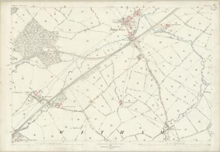 Somerset LV.1 (includes: Witham Friary) - 25 Inch Map