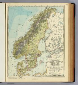 Sweden, Norway, Denmark.