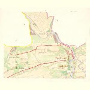 Kozlowitz - m1320-1-002 - Kaiserpflichtexemplar der Landkarten des stabilen Katasters