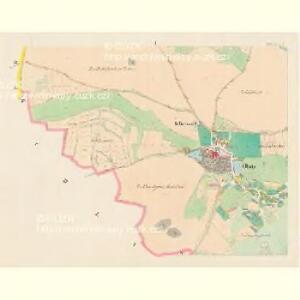 Obitz (Obice) - c5364-1-001 - Kaiserpflichtexemplar der Landkarten des stabilen Katasters