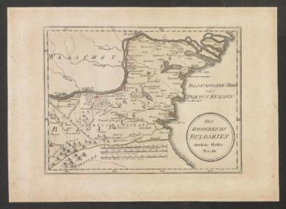 Des Koenigreichs Bulgarien Oestliche Haelfte