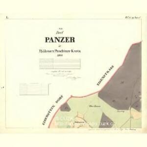 Panzer - c5627-1-001 - Kaiserpflichtexemplar der Landkarten des stabilen Katasters