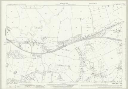 Dorset XXXIV.11 (includes: Corfe Mullen; Pamphill; Sturminster Marshall) - 25 Inch Map
