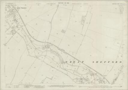 Berkshire XXVI.9 (includes: East Garston; East Shefford; West Shefford) - 25 Inch Map