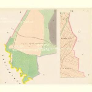 Chwaletitz (Chwaletice) - c2688-1-002 - Kaiserpflichtexemplar der Landkarten des stabilen Katasters