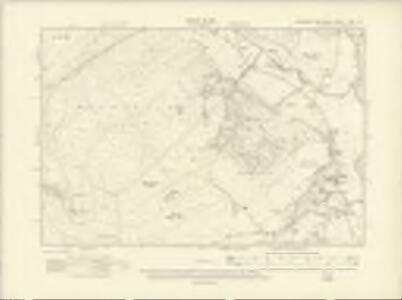 Yorkshire CXV.SE - OS Six-Inch Map