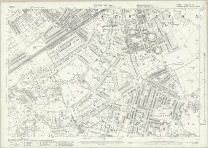 Surrey XII.8 (includes: Long Ditton; Surbiton) - 25 Inch Map
