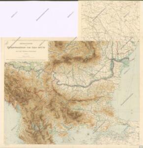 Übersichtskarte der Kriegsschauplatzes vom Jahre 1877 / 78