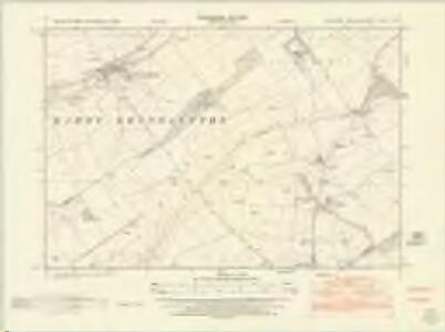 Yorkshire CXLIII.NE - OS Six-Inch Map