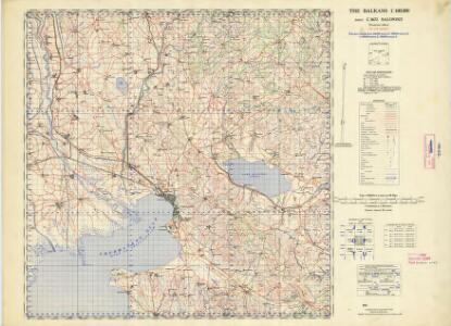Balkans 1:100,000, Salonike