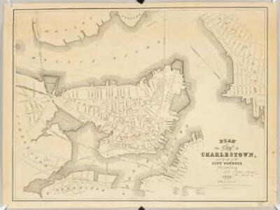 Plan of the city of Charlestown : made by order of the City Council from actual survey