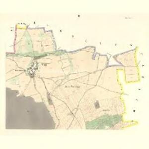 Ullitz - c8243-1-003 - Kaiserpflichtexemplar der Landkarten des stabilen Katasters