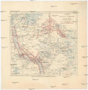 Übersichtskarte von Deutsch-Ostafrika