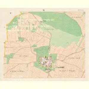 Chwaletitz (Chwaletice) - c2688-1-005 - Kaiserpflichtexemplar der Landkarten des stabilen Katasters