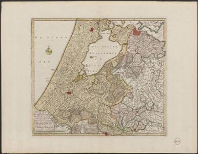 Nieuwe kaart van het Hoogheemraadschap van Rynland, als mede van Amstelland en het Waterschap van Woerden met alle de uitgeveende plassen droogmakeryen enz. tot opheldering van den Tegenwoordigen staat der Vereenigde Nederlanden
