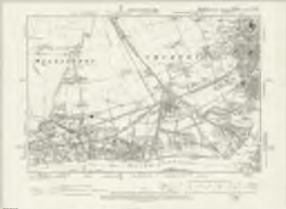 Durham III.NE - OS Six-Inch Map
