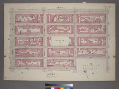 Plate 29, Part of Section 2: [Bounded by E. 14th Street, Avenue B, E. 10th Street, Avenue A, E. 9th Street and Second Avenue.]