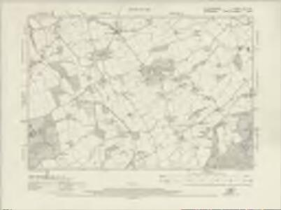 Staffordshire LXX.NW - OS Six-Inch Map