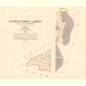 Schwegzarowa Lhota (Sswegcarowa Lhota) - c7815-1-001 - Kaiserpflichtexemplar der Landkarten des stabilen Katasters