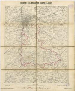 Okresní hejtmanství Vinohradské : [samosprávné okresy: Král. Vinohrady-Nusle-Vršovice-Jílové]