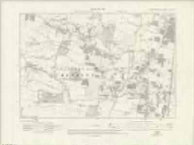 Hertfordshire XLI.NE - OS Six-Inch Map