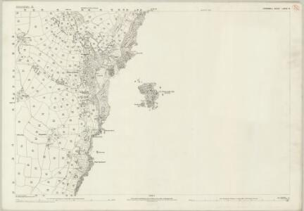 Cornwall LXXIV.14 (includes: Paul; Penzance) - 25 Inch Map