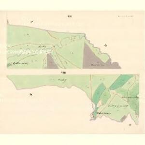 Dwarozna Lhotta - m3176-1-006 - Kaiserpflichtexemplar der Landkarten des stabilen Katasters