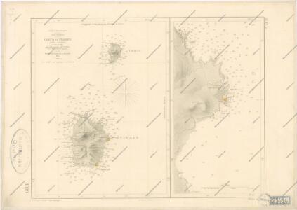 Carte des Iles Acores d ́aprés les travaux exécutés en 1843 et 1844