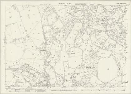 Surrey XXVII.6 (includes: Bletchingley; Caterham; Chaldon) - 25 Inch Map