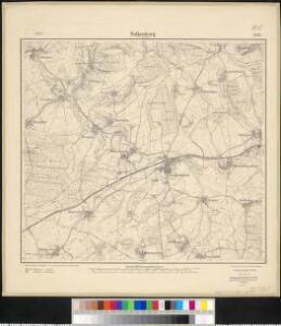 Meßtischblatt 3565 : Falkenberg in Lothringen, 1916