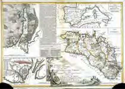 Nouvelle carte de l'isle Minorque