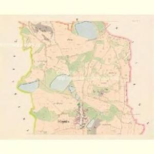Kögnitz - c3090-1-002 - Kaiserpflichtexemplar der Landkarten des stabilen Katasters